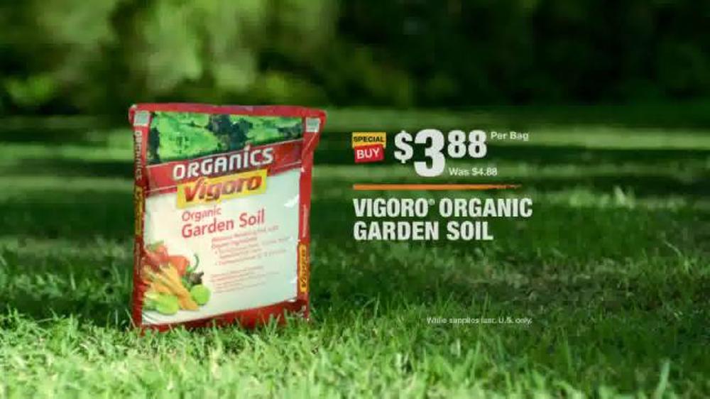 the home depot tv commercial evolving gardens soil ispottv - Garden Soil Home Depot