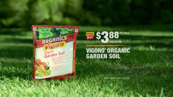 The Home Depot TV Spot, 'Evolving Gardens: Soil'