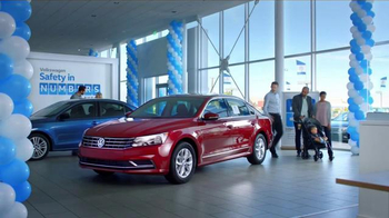 Volkswagen Safety in Numbers Event TV Spot, 'Baby' - Thumbnail 1