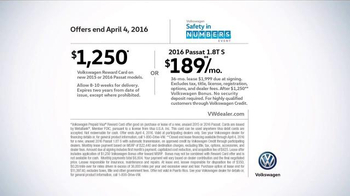 Volkswagen Safety in Numbers Event TV Spot, 'Baby' - Thumbnail 8