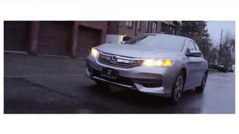 Honda Dream Garage Sales Event TV Spot, 'Built on First: 2016 Accord' - Thumbnail 2