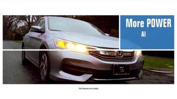 Honda Dream Garage Sales Event TV Spot, 'Built on First: 2016 Accord' - Thumbnail 4