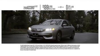 Honda Dream Garage Sales Event TV Spot, 'Built on First: 2016 Accord' - Thumbnail 8