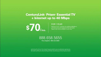 CenturyLink Prism Essential TV Bundle TV Spot, 'Sports and Movies' - Thumbnail 9