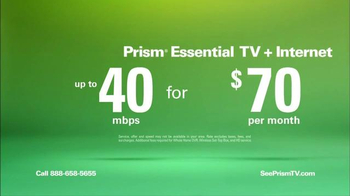 CenturyLink Prism Essential TV Bundle TV Spot, 'Sports and Movies' - Thumbnail 5