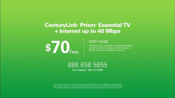 CenturyLink Prism Essential TV Bundle TV Spot, 'Sports and Movies' - Thumbnail 8