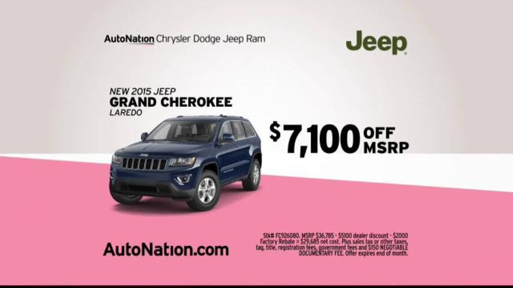 Autonation Ram Truck Month Tv Commercial Drive Pink