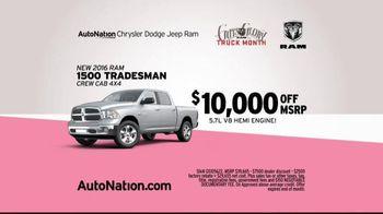 AutoNation Ram Truck Month TV Spot, 'Drive Pink: Roadrunner' - Thumbnail 6