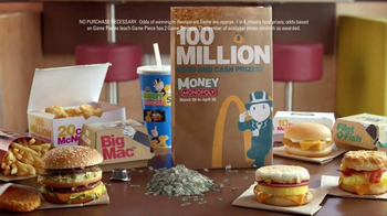 McDonald's Money Monopoly TV Spot, 'Prizes Are Coming' - Thumbnail 1
