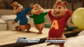 Time Warner Cable On Demand TV Spot, 'Alvin & the Chipmunks: The Road Chip' - Thumbnail 2