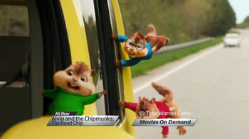 Time Warner Cable On Demand TV Spot, 'Alvin & the Chipmunks: The Road Chip' - Thumbnail 3