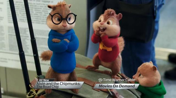 Time Warner Cable On Demand TV Spot, 'Alvin & the Chipmunks: The Road Chip' - Thumbnail 4