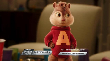 Time Warner Cable On Demand TV Spot, 'Alvin & the Chipmunks: The Road Chip' - Thumbnail 5