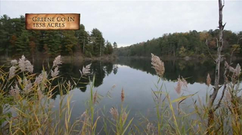 Whitetail Properties TV Spot, 'Large Hunting and Fishing Tract With Cabin' - Thumbnail 4
