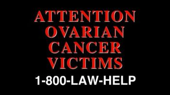 The Cochran Law Firm TV Spot, 'Ovarian Cancer Victims'