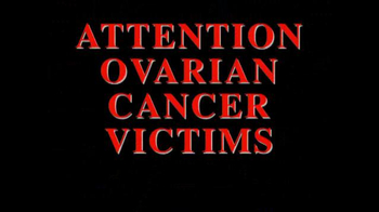 The Cochran Law Firm TV Spot, 'Ovarian Cancer Victims' - Thumbnail 1