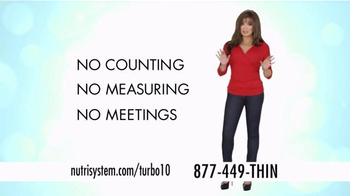 Nutrisystem Turbo10 TV Spot, 'No Counting or Measuring' Ft. Marie Osmond - 4554 commercial airings