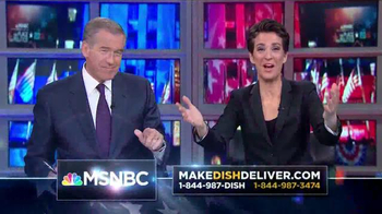 Make Dish Deliver TV Spot, 'MSNBC: Politics' - Thumbnail 6