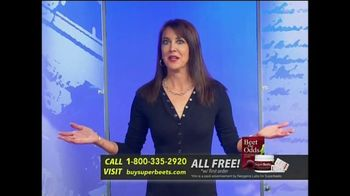 SuperBeets TV Spot, 'Fitness in a Glass' Featuring Stephanie Miller