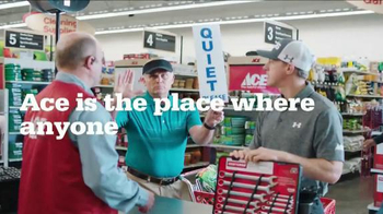 ACE Hardware TV Spot, 'Quiet Please' Featuring Hunter Mahan - Thumbnail 5