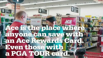 ACE Hardware TV Spot, 'Quiet Please' Featuring Hunter Mahan