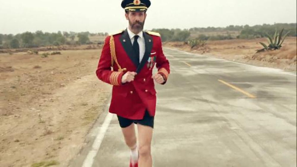 Hotels.com TV Commercial, 'Captain Obvious Runs for President: The Road'