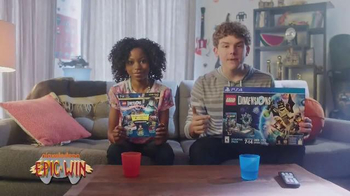 LEGO Dimensions TV Spot, 'Nickelodeon: Epic Win' - 9 commercial airings