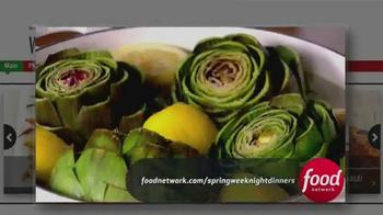 Johnsonville Sausage TV Spot, 'Food Network: Spring Weeknight Dinners' - Thumbnail 2