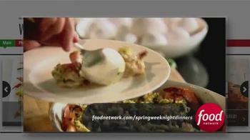 Johnsonville Sausage TV Spot, 'Food Network: Spring Weeknight Dinners' - Thumbnail 3