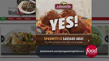 Johnsonville Sausage TV Spot, 'Food Network: Spring Weeknight Dinners' - Thumbnail 4
