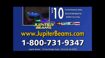 Jupiter Beams TV Spot, 'LED Finger Lights' - Thumbnail 10