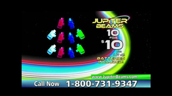 Jupiter Beams TV Spot, 'LED Finger Lights' - Thumbnail 7