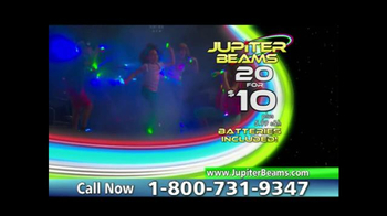 Jupiter Beams TV Spot, 'LED Finger Lights' - Thumbnail 9