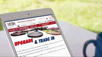 Tennis Express March Madness Sale TV Spot, 'Racquet Trade-In' - Thumbnail 3