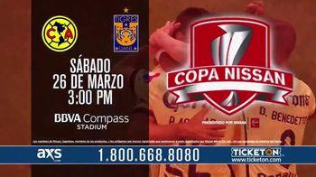 CONCACAF TV Spot, 'Copa Nissan: Club América vs. Tigres UANL' [Spanish]
