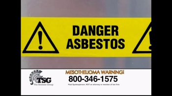 The Sentinel Group TV Spot, 'Asbestos Induced Mesothelioma' - Thumbnail 3