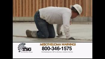 The Sentinel Group TV Spot, 'Asbestos Induced Mesothelioma' - Thumbnail 6