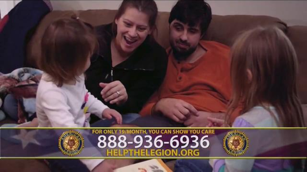 The American Legion TV Commercial, 'Ed Baldwin's Story'