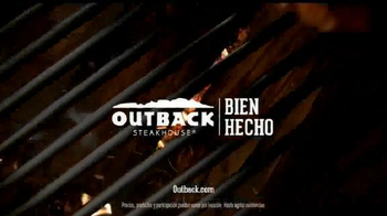 Outback Steakhouse Natural Cut Bone-In Ribeye TV Spot, 'Parrilla' [Spanish] - Thumbnail 8