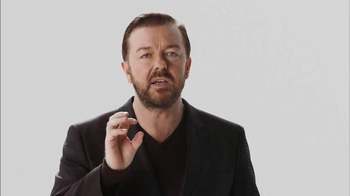 Verizon TV Spot, 'A Better Network as Explained by Ricky Gervais' - 3420 commercial airings