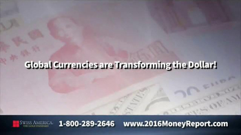 Swiss America TV Spot, 'Money Is Changing!' Featuring Pat Boone - Thumbnail 1