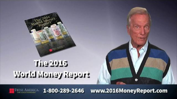 Swiss America TV Spot, \'Money Is Changing!\' Featuring Pat Boone