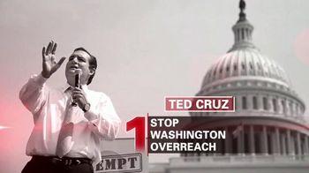 Cruz for President TV Spot, 'Lee'