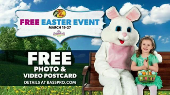 Bass Pro Shops Easter Event TV Spot, 'New Gear and Easter Bunny Photo' - Thumbnail 5