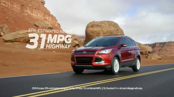 2016 Ford Escape TV Spot, 'Dirt Road to Downtown' - 14 commercial airings
