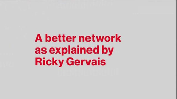 Verizon TV Spot, 'A Better Network as Explained by Ricky Gervais, Part Two' - Thumbnail 1