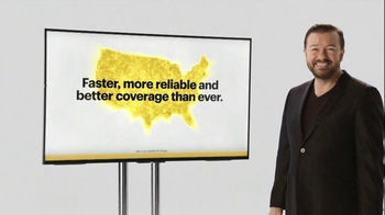Verizon TV Spot, 'A Better Network as Explained by Ricky Gervais, Part Two' - Thumbnail 7