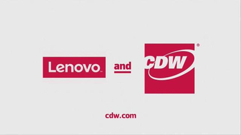CDW Lenovo X1 Carbon Yoga TV Spot, 'Crash by CMO. Orchestration by CDW.' - Thumbnail 9