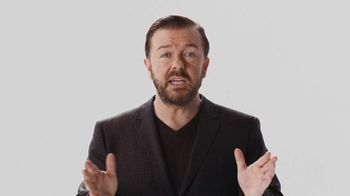 Verizon TV Spot, 'A Better Network as Explained by Ricky Gervais, Part 3' - 2643 commercial airings