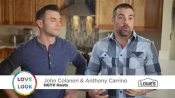 Lowe's TV Spot, 'HGTV: Love the Look Weekend Project' - 78 commercial airings